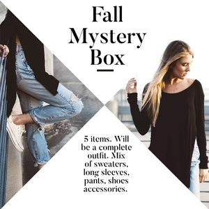 Fall Mystery Box- Complete Fall Outfit